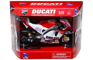 Ducati MotoGP 1:12 Scale Andrea Dovizioso Ducati Desmoseoici Die-Cast- In Stock