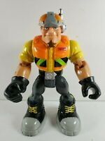 """Rescue Heroes Rip Rockefeller Action Figure 2001 Mattel Fisher-Price 6"""" Scale"""