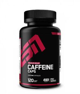 (12,50€/100g) ESN Caffeine Caps 120 Kapseln Koffein pre workout 84g