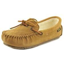Zapatillas de andar planos de color principal beige por casa de mujer