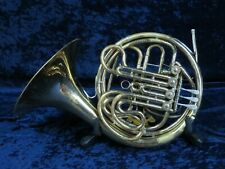 Holton 76 Double French Horn Ser#246140 Needs Minor Repair Nice Sounding Horn..