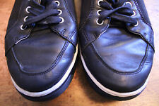 Cole Haan Oxford Black Leather/Cloth Oxfords Size 10.5 C12195