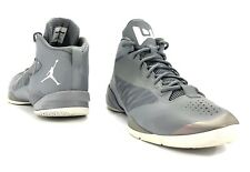 Men's Air Jordan Fly Wade 2 Athletic Shoes Size 13M  Gray White 514340-010