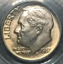1982  Roosevelt Dime  PCGS MS65  No P