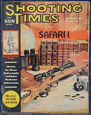 Magazine SHOOTING TIMES, September 1964 !!! SQUIRREL HUNTING !!! *FREE SHIPPING*