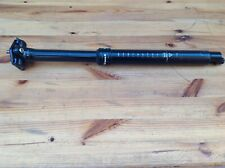 Tranzx Remote Dropper Post (150mm) 31.6mm black