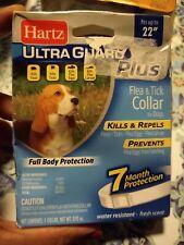 "Hartz UltraGuard Plus Flea Tick Collar Dog, 7 Month Protection, Up to 22"" Necks"