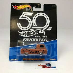 SALE!   '60's Ford Econoline Pickup * Hot Wheels Favorites 50th * HH15