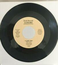 LUXURY feat JIM JAM KICKIN - I LOVE YOU - SUPER RARE MODERN SOUL/BOOGIE DANCER