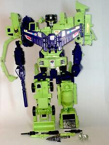 DEVASATOR G1 -Near Complete-Transformers-Constructicons-Hasbro Takara- Vintage
