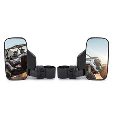 UTV ATV 2pcs Rearview Side Mirror 1.75