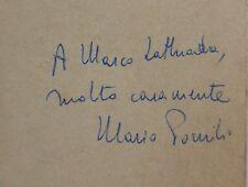 Mario POMILIO Autografo Dedica QUINTO EVANGELIO Rusconi 1975