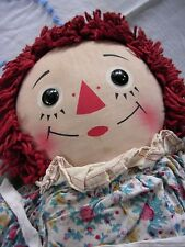 Vintage Raggedy Ann Doll Knickerbocker w/ Original Outfit Clothes 25""