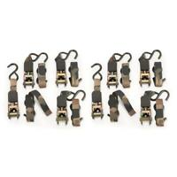 Guide Gear Ladder Stand 8 ft Ratchet Strap Heavy-Duty 8Pack Hunting Safety Strap