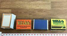 Vintage Job lot 4 (empty) Matchboxes - Rizla+ Advertising