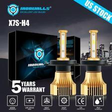 New listing 4-Sides Cree H4 9003 375000Lm 2500W Led Headlight Kit Hi-Lo Beam Bulbs 6000K