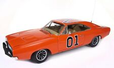"""1969 Dodge Charger General Lee """"The Dukes Of Hazard"""" Movie Car 1/18 Diecast"""