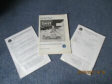 Issue 17 Dec 1983 Sunbeam Rapier Owners Club Newsletter Cut and Trust + letters