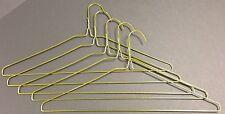 """Case of 500 13 Gauge 16"""" Wire Suit Hangers Gold *New*"""