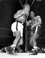 Ezzard Charles V Jersey Joe Walcott Boxeo 10x8 Foto