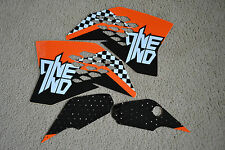 ONE INDUSTRIES CHECKERS GRAPHICS  KTM  65 SX SX65 65SX  2009-2014