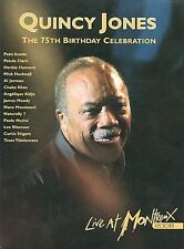 NEW Quincy Jones: The 75th Birthday Celebration - Live at Montreux (DVD)