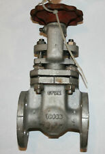 """1/2"""" Alloyco Flanged Gate Valve Class 150 SS OS&Y New"""