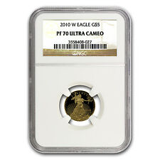 2010-W 1/10 oz Proof Gold American Eagle Coin - PF-70 NGC