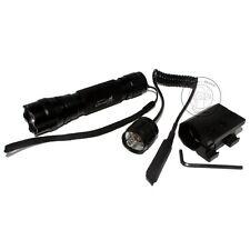 UltraFire Tactical 501B CREE XM-L L2 LED 1000Lumens Flashlight Torch + Mount Set