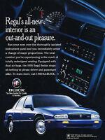 1995 Buick Regal GS Blue - Classic Vintage Advertisement Ad D05