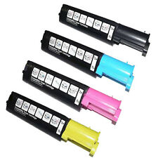 Set of 4 Toner Cartridge For Epson Printer C1100 C1100N C1100NT CX11 CX11N