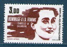 TIMBRE 2259 NEUF XX LUXE - DANIELLE CASANOVA - RESISTANTE MORTE EN DEPORTATION