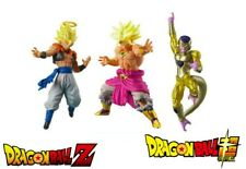 Collection Gashapon HG Dragon Ball Super 3 figurines golden frieza broly gogeta