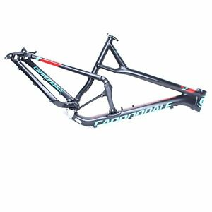 """Cannondale 2016 Jekyll Alloy 27.5"""" Frame Only Large Black w/ Blue/Red NOS"""