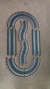 CARRERA GO!!!  TRACK ASSORTMENT 45 & 90 DEGREE CURVES + STRAIGHTS + TRACK CLIPS
