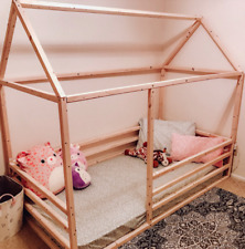 Wood toddler House bed/ teepee bed/Frame
