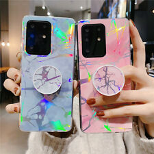 For Samsung S20 Ultra Note 10+ S10e S9 S8 Laser Patterned Lightweight Case Cover