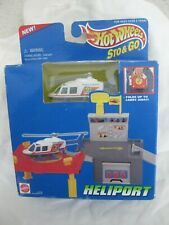 Hot Wheels 1995 Stop & Go Heliport News Chopper Sealed In Box