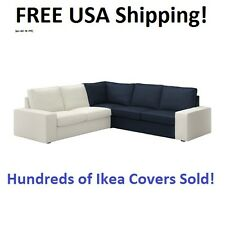 IKEA KIVIK Corner Section (Sectional) Sofa Cover Slipcover ORRSTA DARK BLUE NEW!
