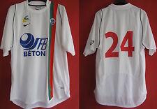 Camiseta US lusitanos de créteil usado No. 24 CFA Seb Hormigón partido usado -L