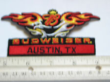 Budweiser Patch Austin Texas Bike Week  Motorcycle Event , (453)(**)