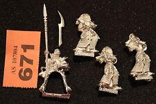 Games Workshop Warhammer Dark Elves Rider and Executioners Job Lot Metal Figure