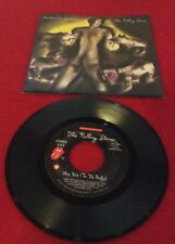 1986 Rolling Stones 45 RPM W Original Picture Sleeve PRICE CUT !!!
