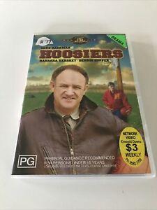 Hoosiers EX RENTAL DVD Gene Hackman Dennis Hopper Barbara Hershey