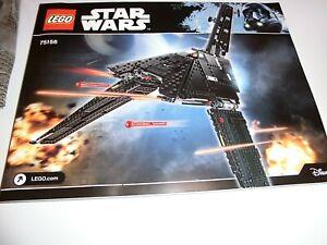 LEGO® Star Wars™ 75156, Krennic's Imperial Shuttle, NEU, ohne Figuren, ohne OVP