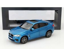 2015 BMW X6 M F86 Blue Metallic Special Edition Model Car 1/18 NOREV US SELLER
