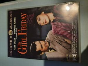 HIS GIRL FRIDAY CLASSIC CONEDY W CARY GRANT: SPEC FEATS UNAVA'BLE IF STREAM'G