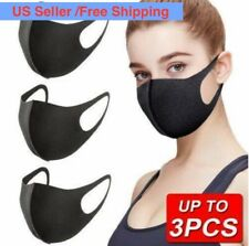3Pcs Washable Earloop Mask Cycling Anti Dust Mouth Face Mask