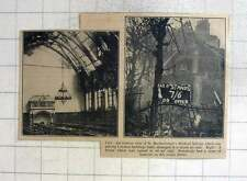 1940 Interior St Barts Medical School Damaged, Humus For Sale Sign