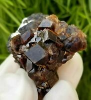 96ct, Top Quality Natural Andradite Garnet Cluster from Afghanistan, US SELLER